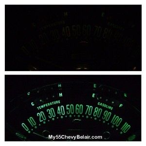 55 Speedometer with LED's